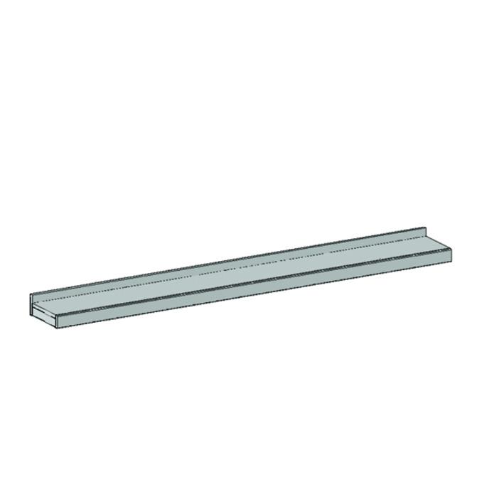 Полка настенная «Оскар» 1NM 110 см - светлая