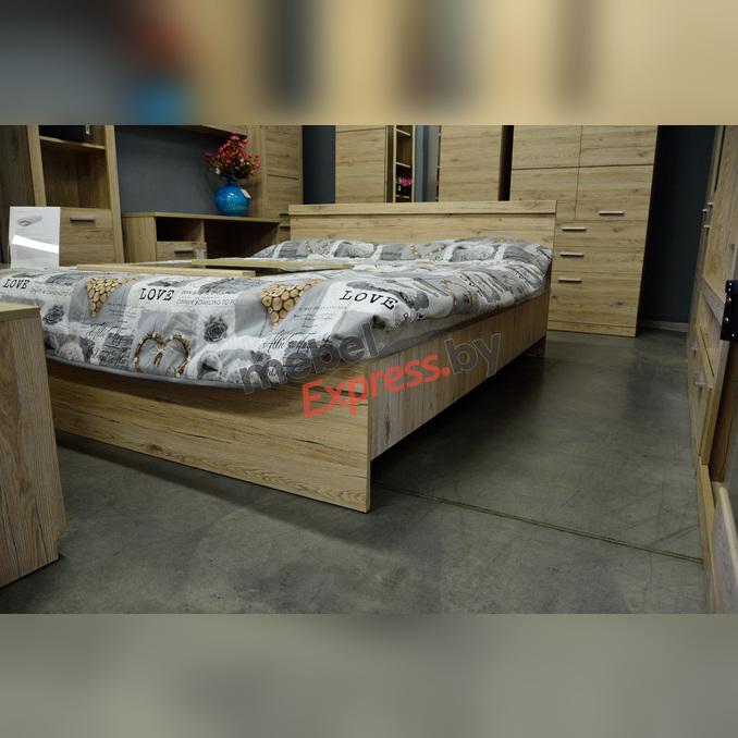 Кровать «Оскар» 140 полуторная с подъемником - светлая