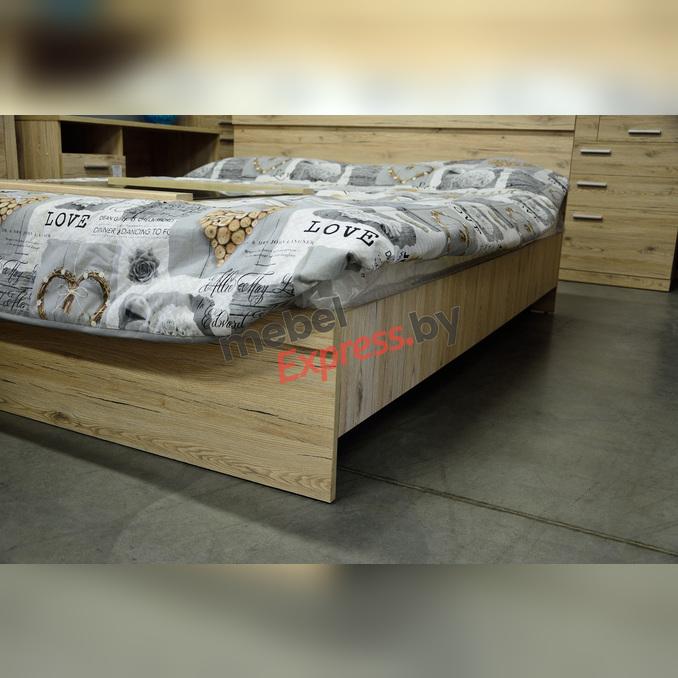 Кровать «Оскар» 160 двуспальная - светлая