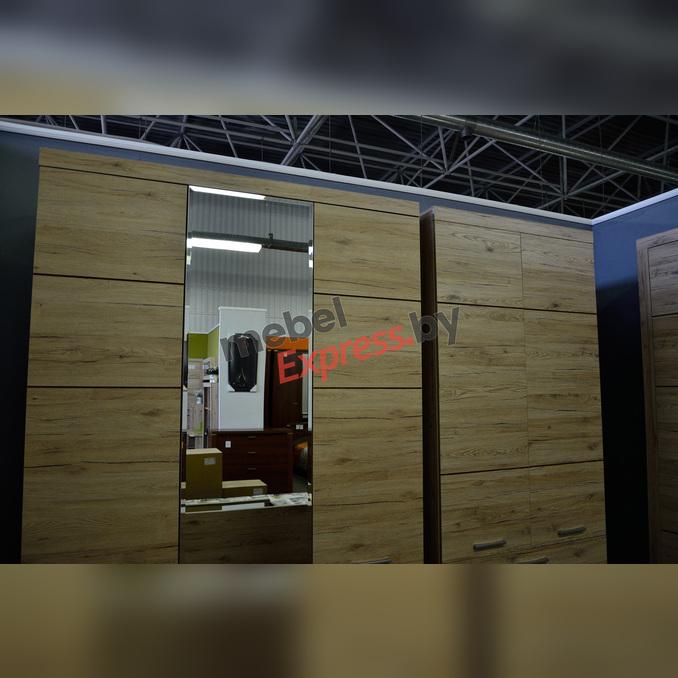 Шкаф «Оскар» 3D2S Z трехстворчатый с зеркалом - светлый