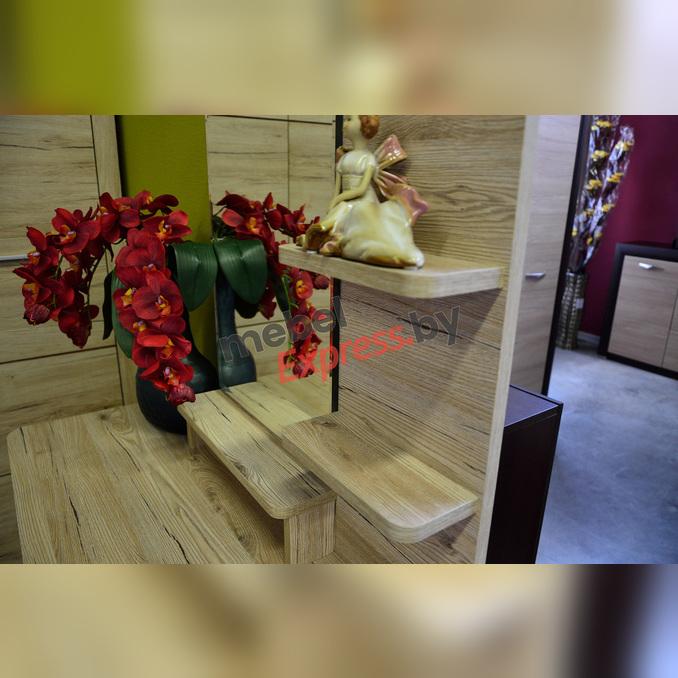 Стол туалетный «Оскар» с зеркалом 90 см - светлый