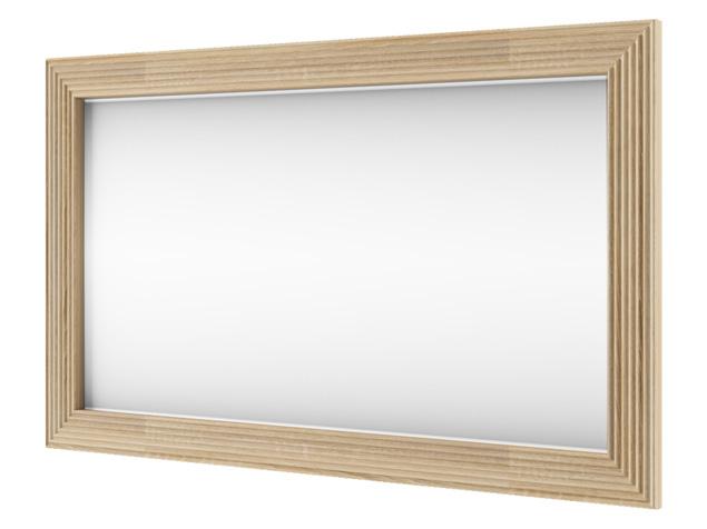 Зеркало настенное «Остин» 100 см - сонома светлый