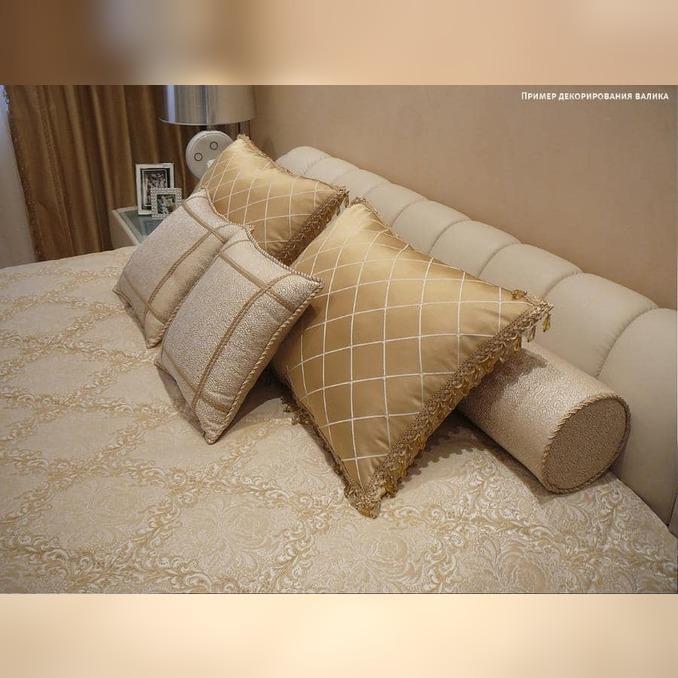 Подушка валик Kondor 90х20