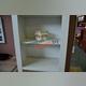 Шкаф открытый «Прованс» 1D - белый