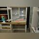 Шкаф-витрина «Прованс» 1V2D1SN