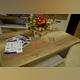 Стол журнальный «Прованс» белый на колесиках