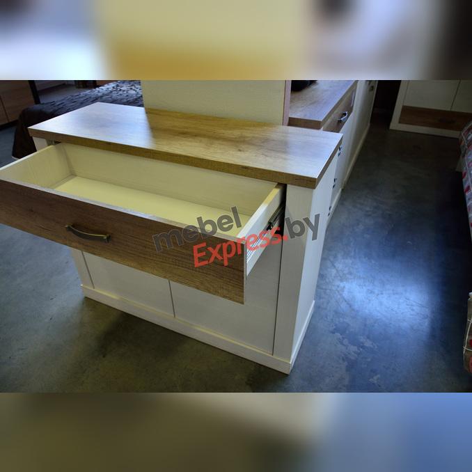 Тумба-комод «Прованс» с ящиком 2D1S - белая