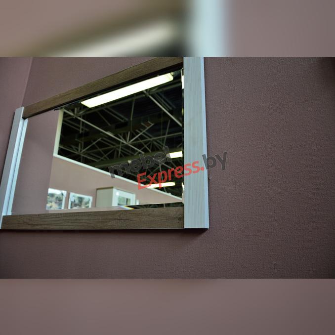 Зеркало настенное «Прованс» 100 см - белое