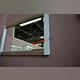 Зеркало настенное «Прованс» B 130 см - белое