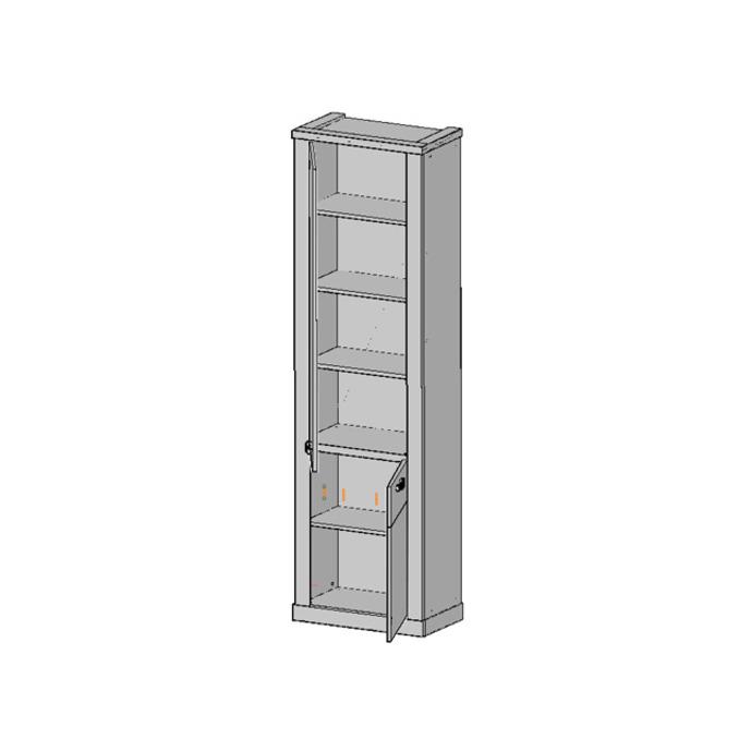 Шкаф «Прованс» 2D пенал с полками