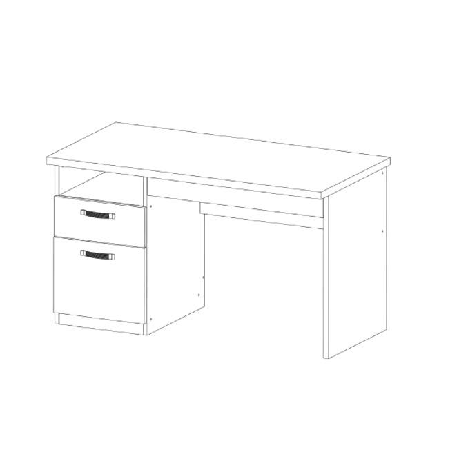 Стол письменный «Прованс» с ящиком