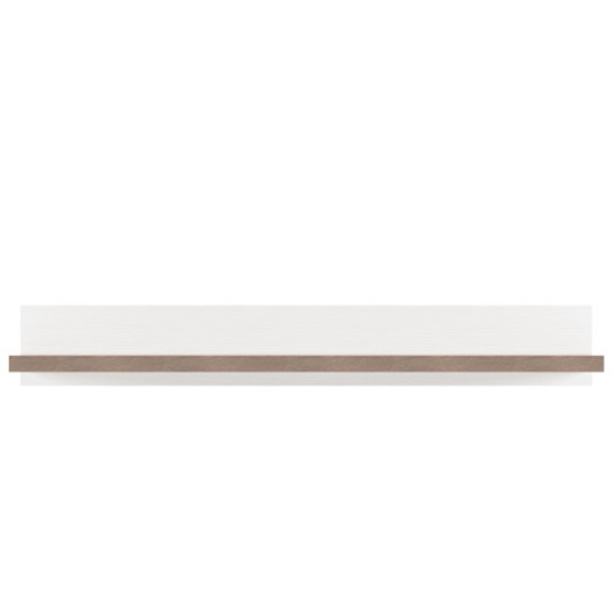 Полка настенная «Прованс» 100см 1N - белая