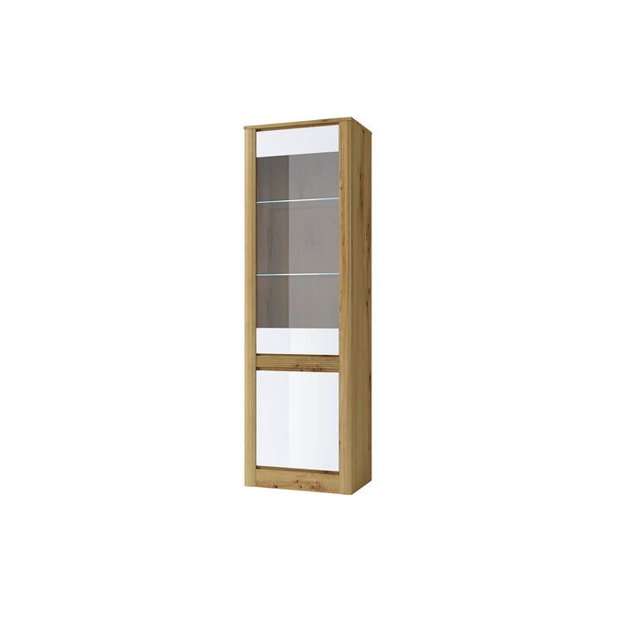 Шкаф с витриной «Ричи» 1V1D