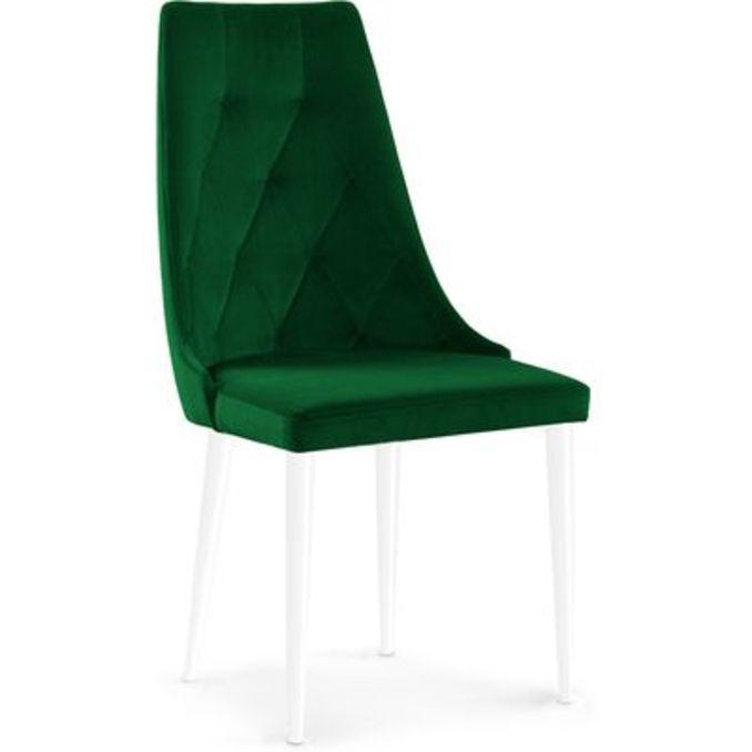 Стул «Карен» зеленый/белый