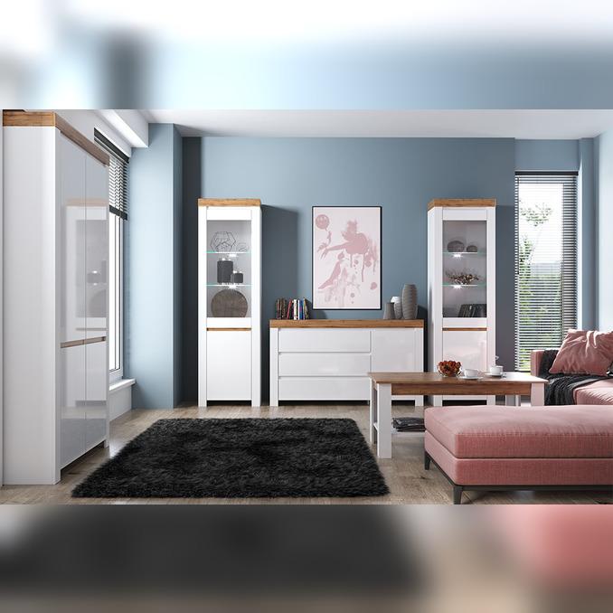 Модульная гостиная «Таурус» 1 - светлая