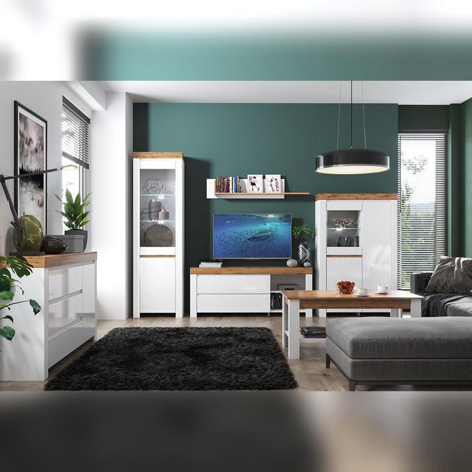 Модульная гостиная «Таурус» 2 - светлая