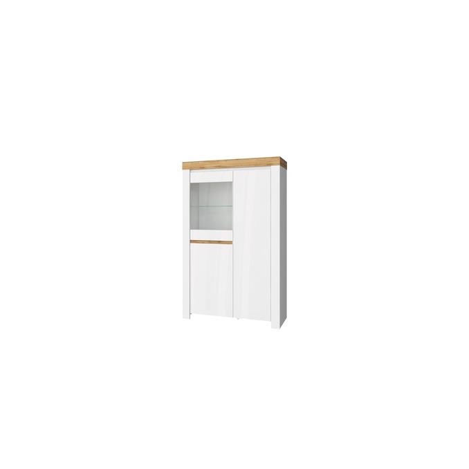 Шкаф с витриной «Таурус» 1V2D