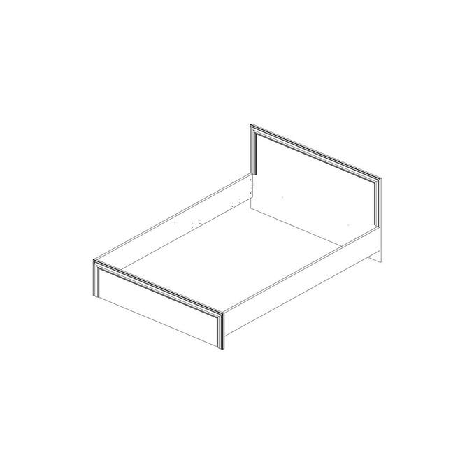 Кровать «Тейлор» двуспальная 160 - белая