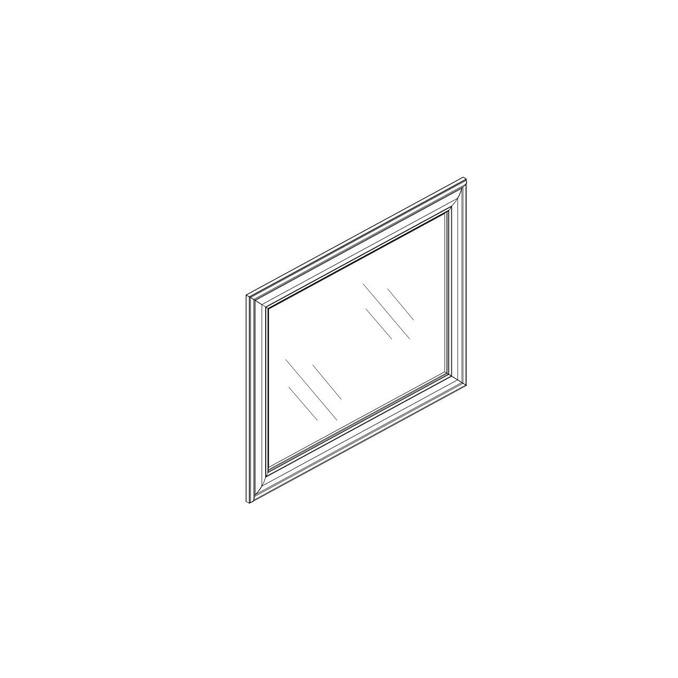 Зеркало «Тейлор» настенное 60 см - белое