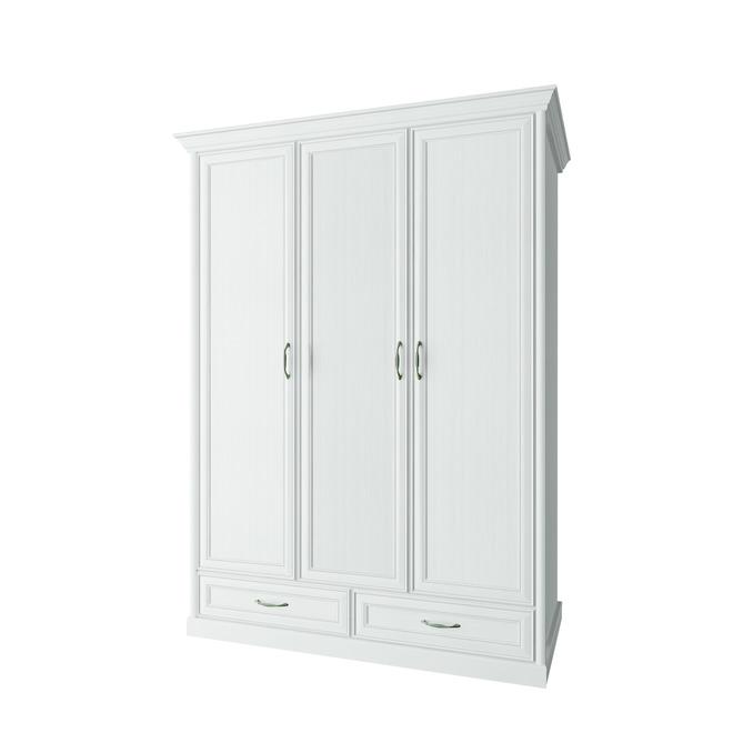 Шкаф «Тейлор» 3DG2S трехстворчатый - белый