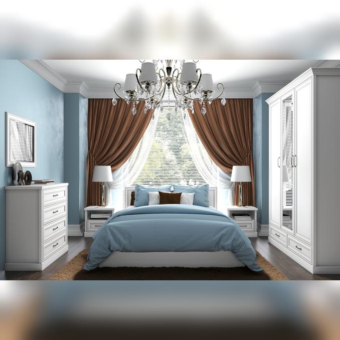 Спальня «Тейлор» - белая