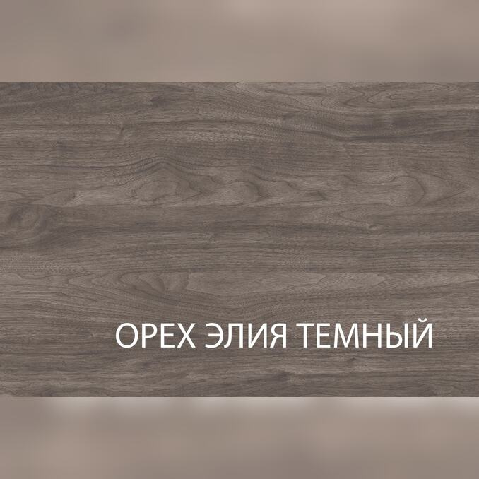 Тумба-витрина «Тиффани» 1V2D1S - орех элия темный