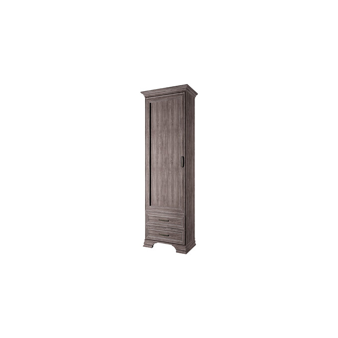 Шкаф «Тиффани» 1D2S одностворчатый орех элия темный