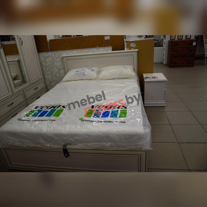 Кровать «Тиффани» двуспальная 160 с подъемником - белая