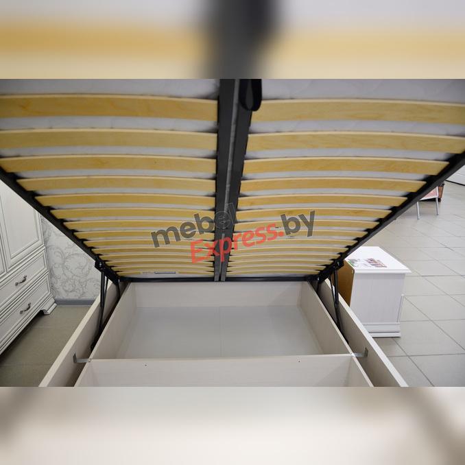 Кровать «Тиффани» полуторная 140 с подъемником - белая