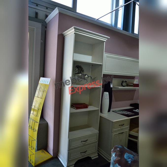 Шкаф «Тиффани» открытый 2S белый