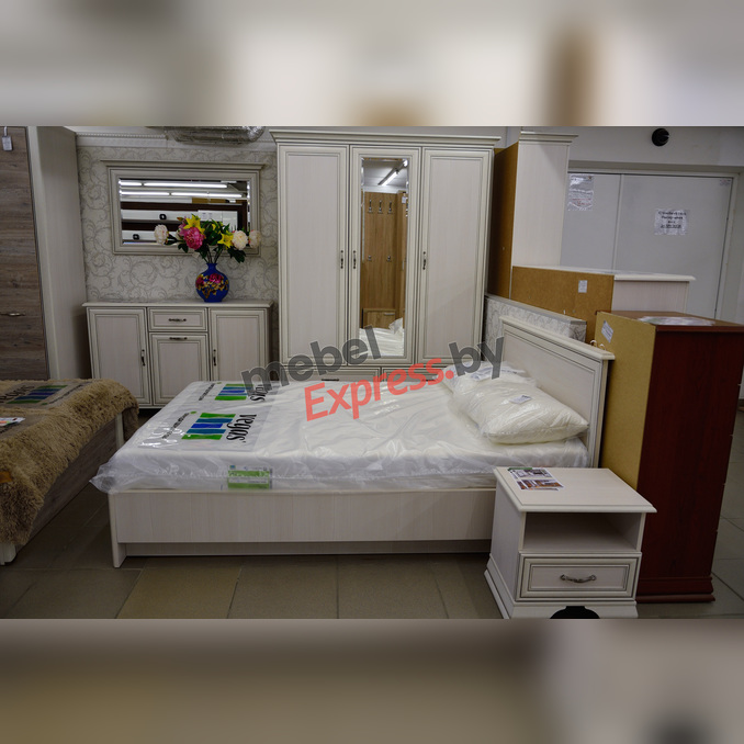 Спальня «Тиффани» 2 - белая