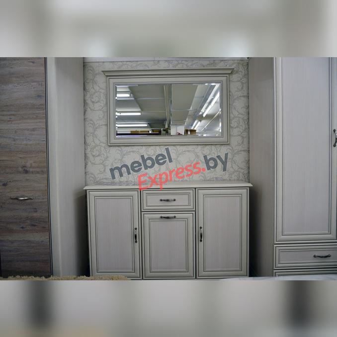Зеркало «Тиффани» настенное 130 см белое