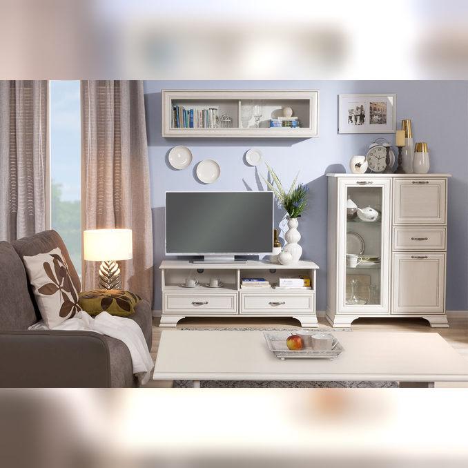 Модульная гостиная «Тиффани» 4 - белая