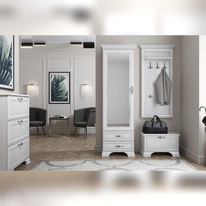 Набор мебели прихожая «Тиффани» 3 - светлая
