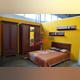 Кровать «Тиффани» полуторная 120 - каштан