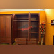 Шкаф «Тиффани» 3D4S Z трехстворчатый с зеркалом - каштан