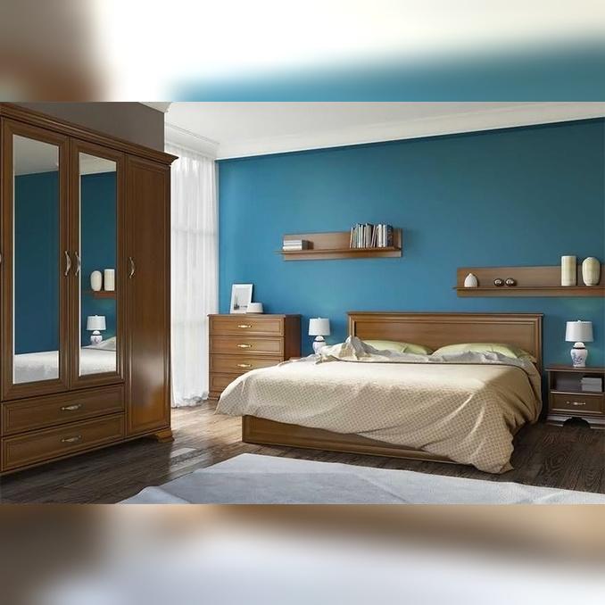 Спальня «Тиффани» 2 - каштан