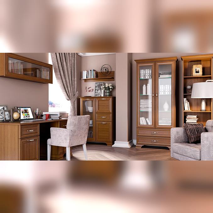 Набор мебели для кабинета «Тиффани» - каштан