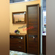 Шкаф «Вена» одностворчатый 1D с полками - орех