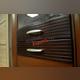 Шкаф-витрина «Вена» 1V1D пенал в гостиную - орех