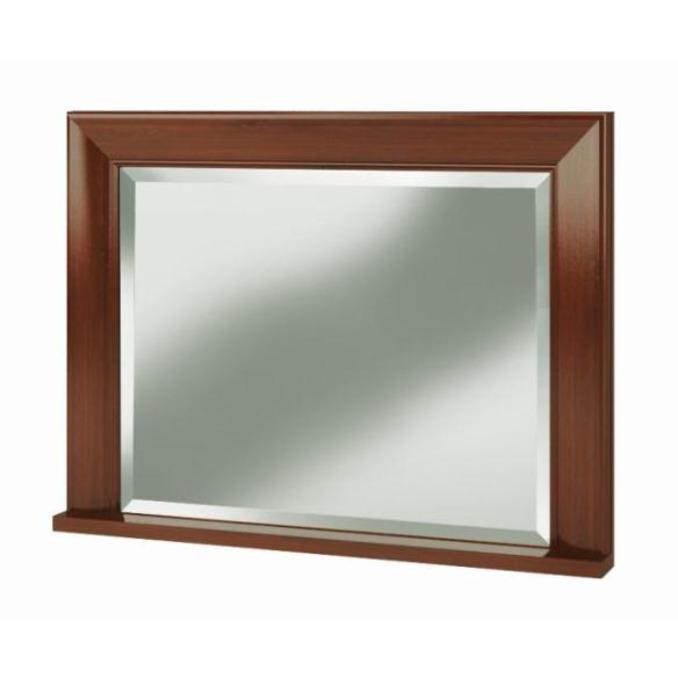 Зеркало настенное «Вена» 80см - орех